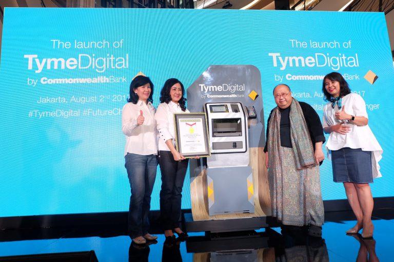 Buka Rekening Cuma 10 Menit, MURI Masukkan Tyme Digital Commonwealth dalam Rekor Dunia