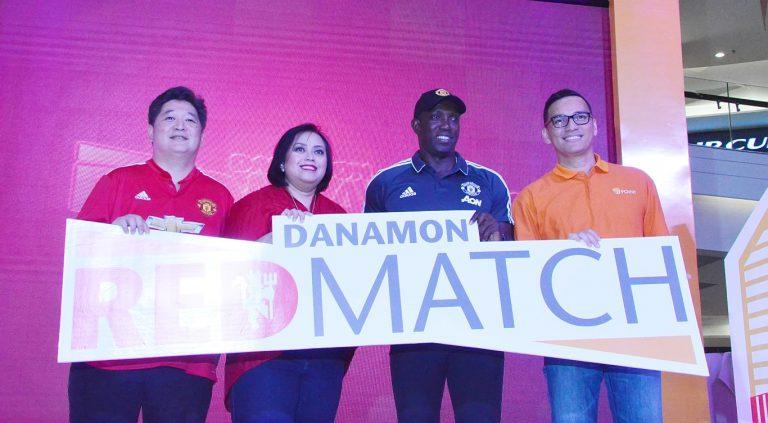 Hadirkan Dwight Yorke, Danamon Luncurkan Program Red Match Soccer Camp dan D-Point di Kanal-kanal Digitalnya