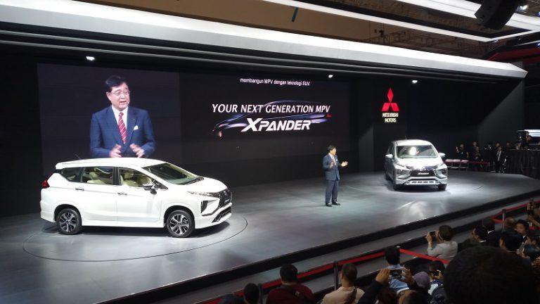 Inilah Harga Ke-6 Varian Mitsubishi Xpander di GIIAS 2017