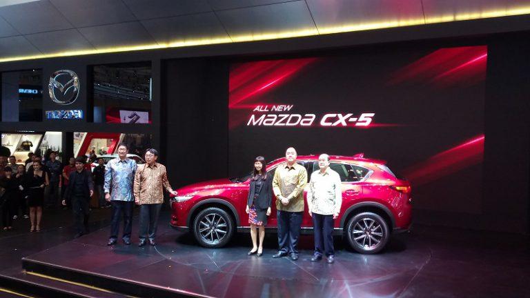 Eurokars Perkenalkan All-new Mazda CX-5 di GIIAS 2017, Ini Harganya