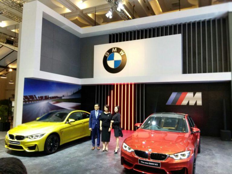 BMW M3 dan BMW M4 Coupe Meluncur di Pavilion BMW GIIAS 2017