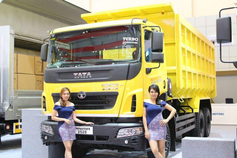 GIIAS 2017: Tata Prima Jadi Truk Idola di Booth Tata Motors