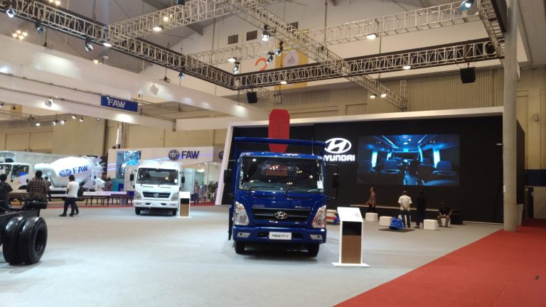 Ramaikan Kembali Pasar Truck dan Bus, Hyundai Targetkan 2018 Sudah CKD