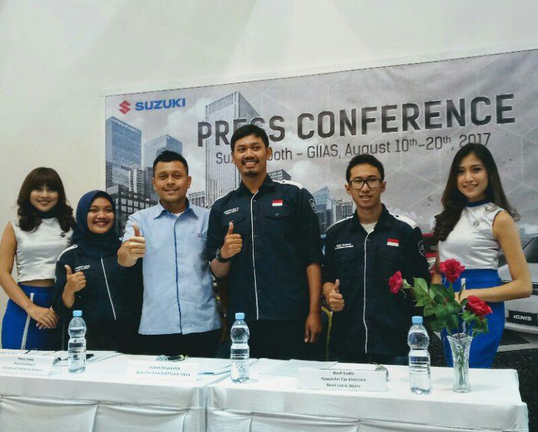 Suzuki Dukung Inovasi Mobil Listrik Karya Mahasiswa UGM