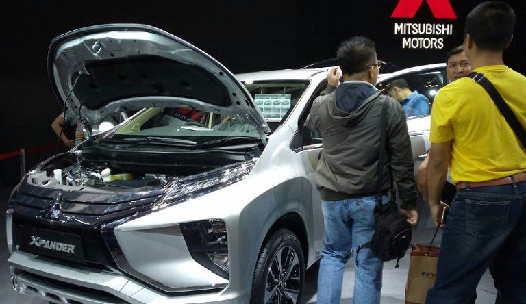 Xpander, Amunisi Baru Mitsubishi di GIIAS 2017 Penjualannya Sudah Mencapai 3000-an Unit