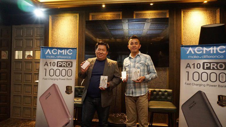 ACMIC A10PRO dengan Dukungan Fast Charging Hadir di Indonesia