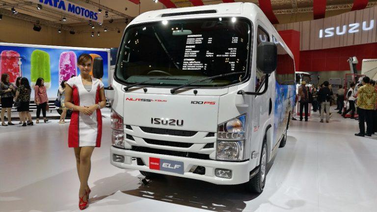 Isuzu Sukses Pasarkan 259 Unit Kendaraan di GIIAS 2017