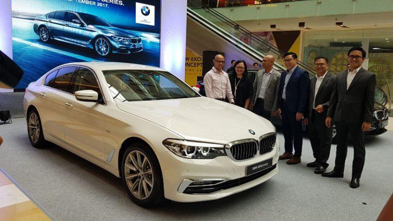 BMW Beri Kesempatan Warga Surabaya Test Drive all-new BMW Seri 5