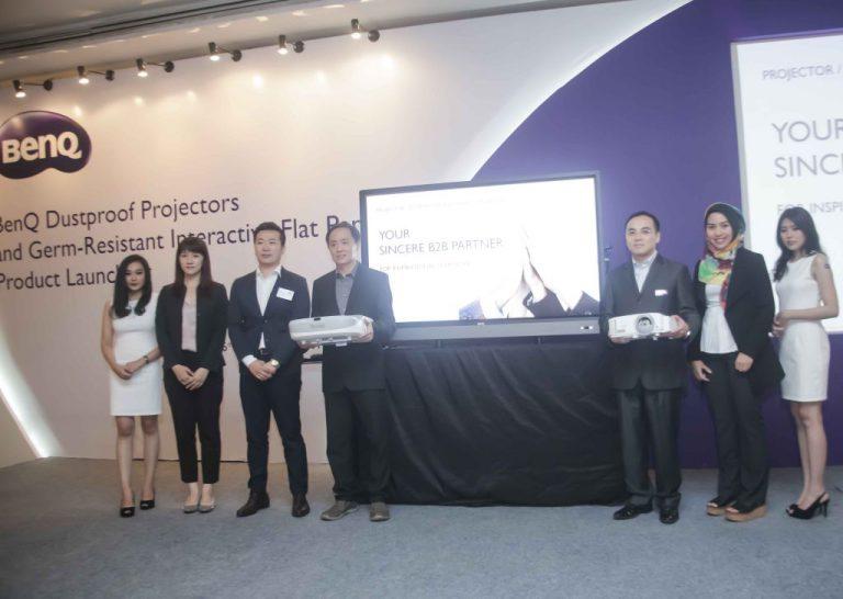 Teknologi Anti-Debu dan Anti-Kuman jadi Andalan Proyektor dan IFP BenQ Terbaru di Indonesia
