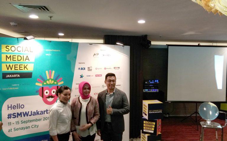 Sudah Dibuka: Social Media Week Jakarta 2017, Berlangsung Hingga 15 September 2017