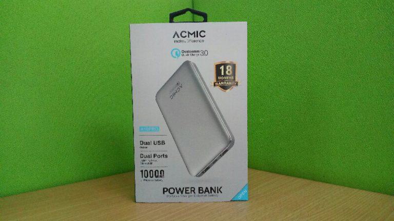 Review ACMIC A10Pro: Pantas Mendapat Julukan Power Bank Premium