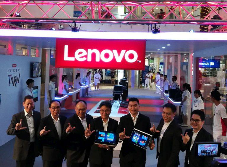 Semua Kebutuhan Konsumen akan PC dan Notebook Premium Dipamerkan Lenovo di Ajang 'Citizens of TMRW'