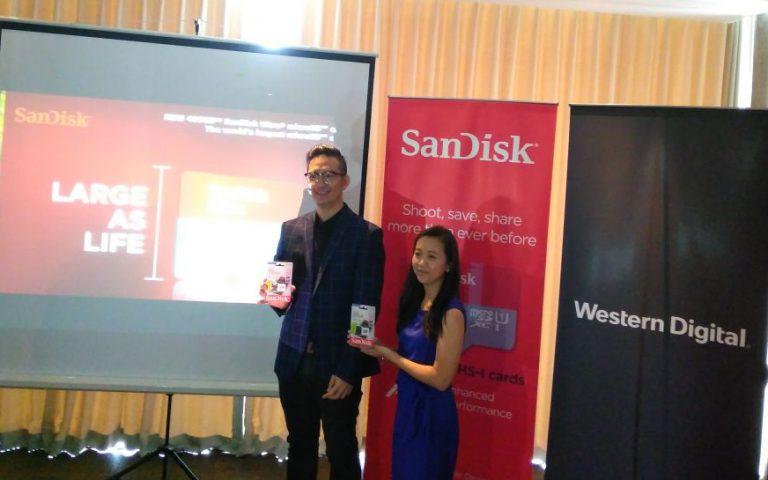 SanDisk Resmikan Kehadiran MicroSD Card Berkapasitas 400 GB di Indonesia