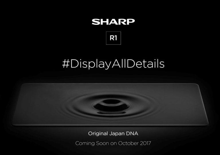 Oktober, SHARP R1 Akan Ramaikan Pasar Smartphone Indonesia