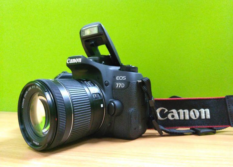 Review Canon EOS 77D: DSLR Semi Profesional dengan Fitur Nyaman