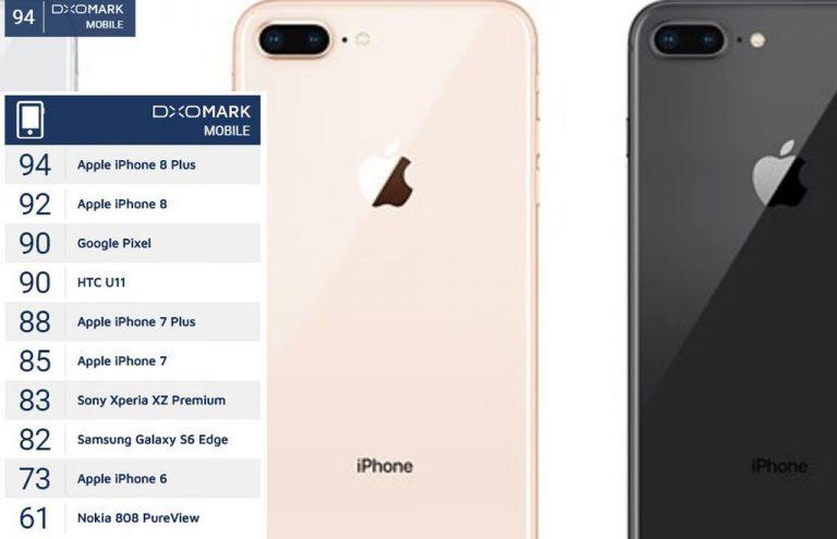 Duo iPhone 8 Terbaru Disebut DxOMark Usung Kamera Smartphone Terbaik