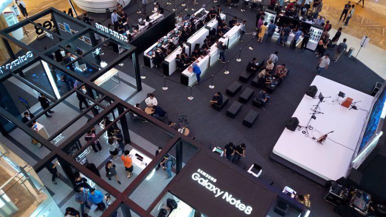 Jakarta dan Surabaya Jadi Kota Perdana yang Jual Samsung Galaxy Note8
