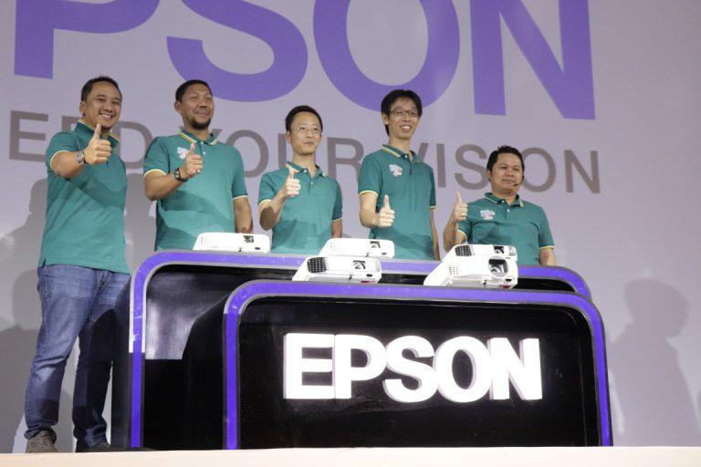 Epson Luncurkan Rangkaian Proyektor Baru untuk Bisnis dan Hiburan