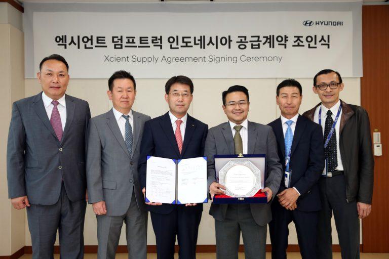 Kompak, Hyundai Oto Komersial Indonesia dan Hyundai Motor Company Hadirkan Xcient ke Indonesia