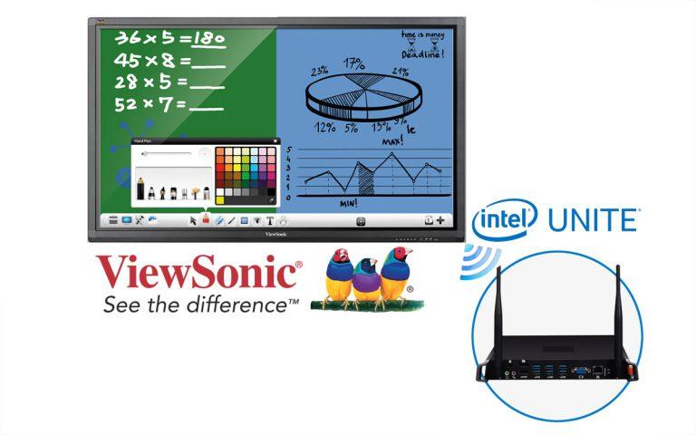 ViewSonic dan Intel UNITE Lakukan Kemitraan untuk Komunikasi yang Lebih Terpadu