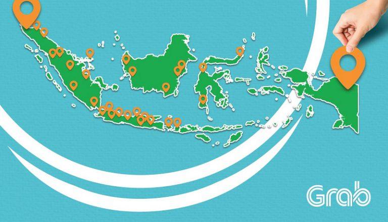Grab Perluas Layanannya ke Banda Aceh dan Jayapura