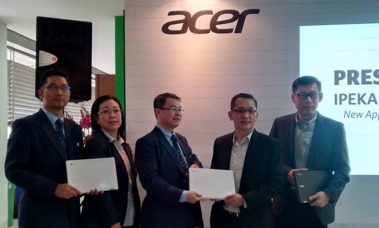 Lewat Chromebook, Acer Dukung IPEKA Implementasikan Digital Classroom