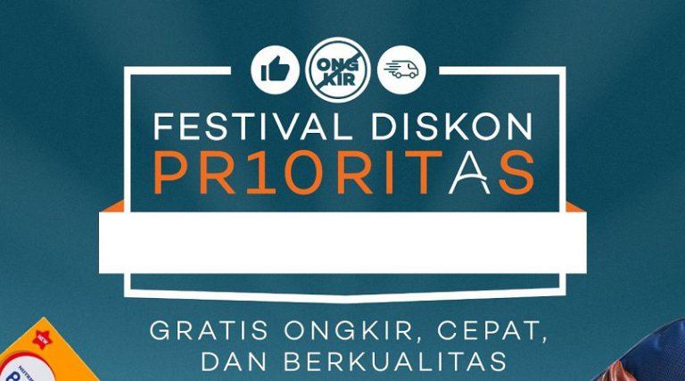 Manjakan Penjual dan Pembeli, Lazada Gelar Festival Diskon Prioritas