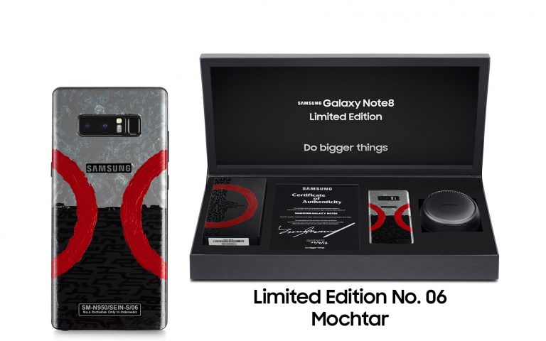 18 Oktober di Blibli.com: Samsung Akan Lelang Galaxy Note8 Limited Edition