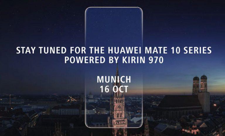 Beberapa Jam Lagi Huawei akan Umumkan Mate 10 dengan Chip Kirin 970. Tonton Di Sini!