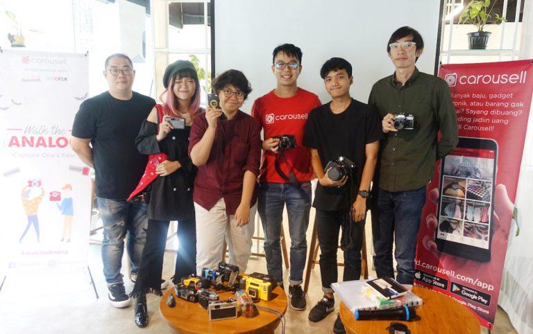 Carousell Gelar Workshop Bagi Penggemar Kamera Analog