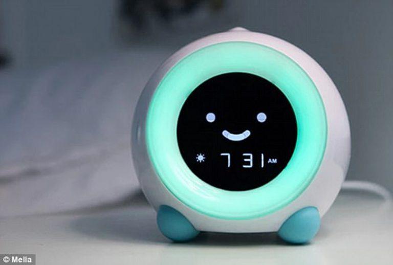 Mella, Jam Alarm yang Bisa Mengatur Pola Tidur Anak