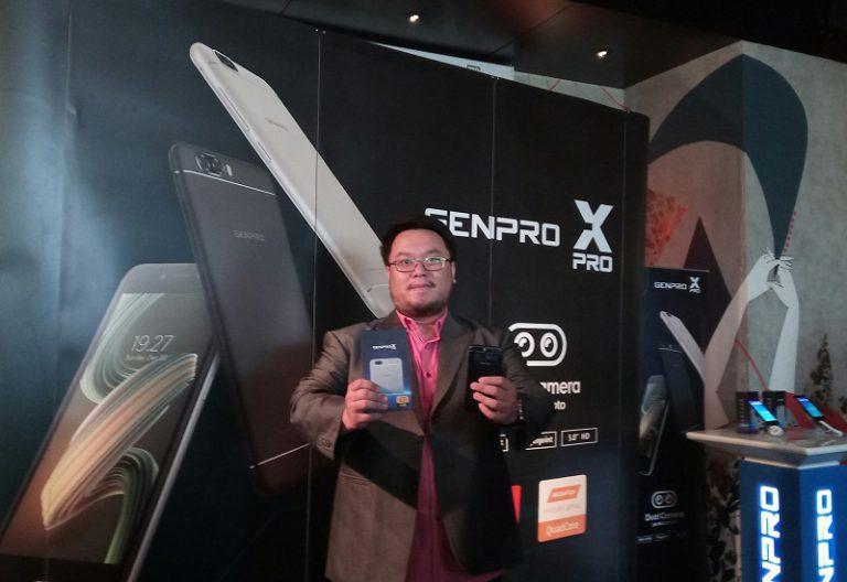 Genpro X Pro Meluncur, Smartphone Dual-camera Seharga Rp1 Jutaan