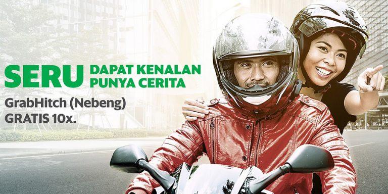 Setahun Beroperasi di Jakarta, GrabHitch Bike Hubungkan 820 Ribu Pengguna