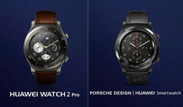 Huawei Watch 2 Pro dan Watch 2 Porsche Design Resmi Meluncur dengan Dukungan eSIM
