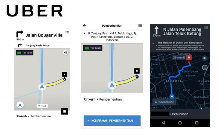 Kini, Uber Punya Sistem Navigasi Baru untuk Mitra Pengemudi