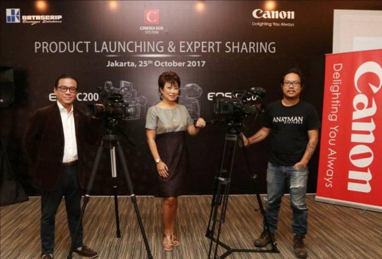 Canon Luncurkan Dua Kamera EOS untuk Kebutuhan Sinematografi Berkemampuan 4K