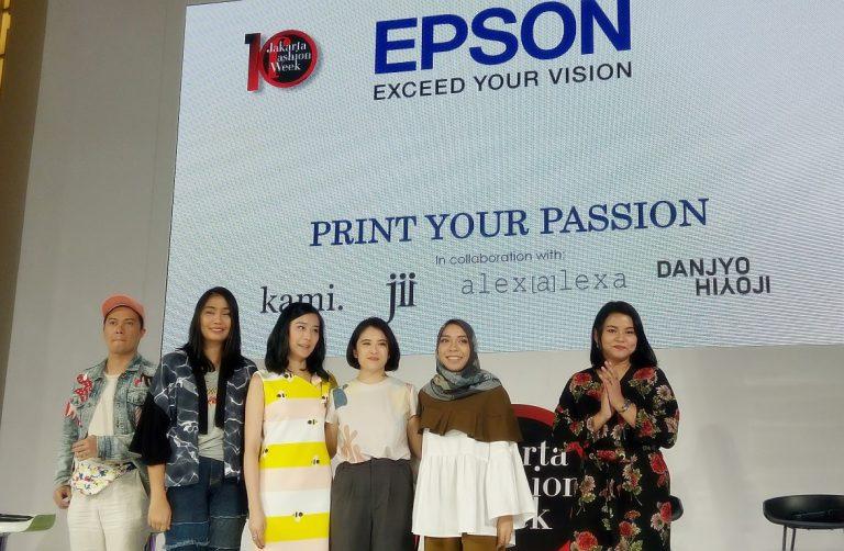 Epson Hadirkan Epson Surecolor F Series, di Ajang Fashion Week 2017