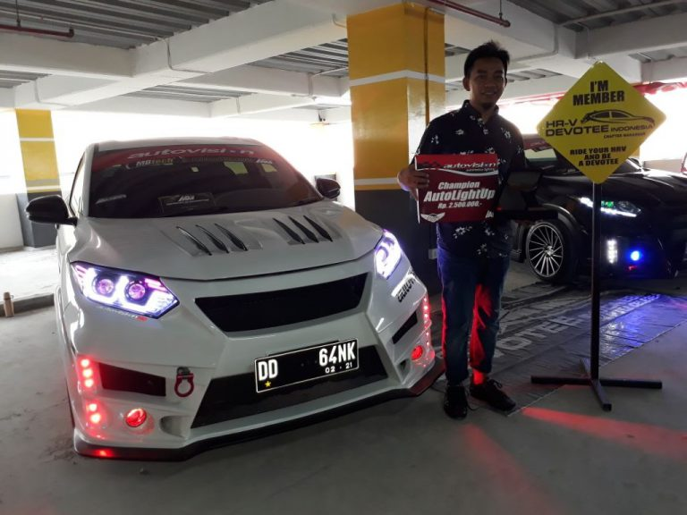 Autovision AutoLight Up Nobatkan HR-V Menjadi Champion di Makassar