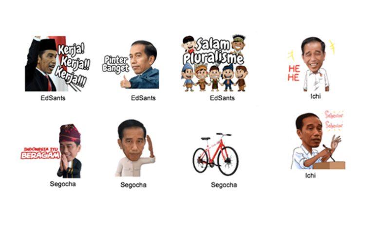 Rayakan Semangat Sumpah Pemuda, LINE Keluarkan Stiker Pilihan Favorit Presiden Jokowi
