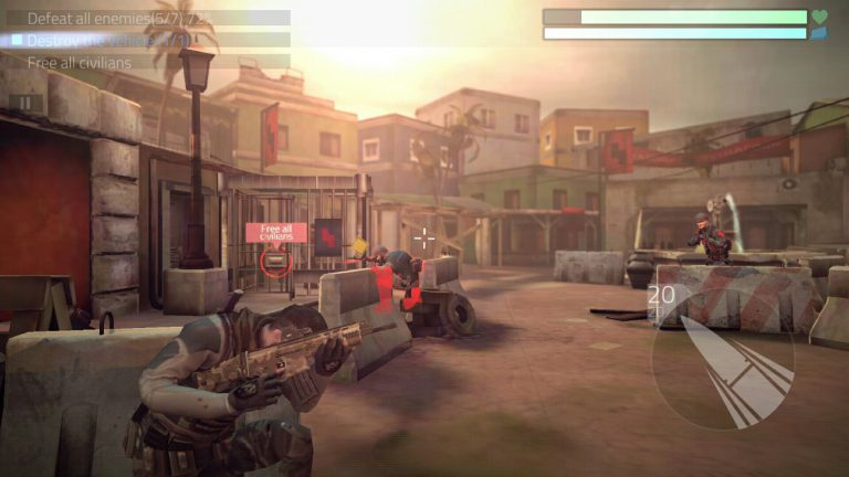 Review Cover Fire: Game Action Untuk Fans Militer Modern