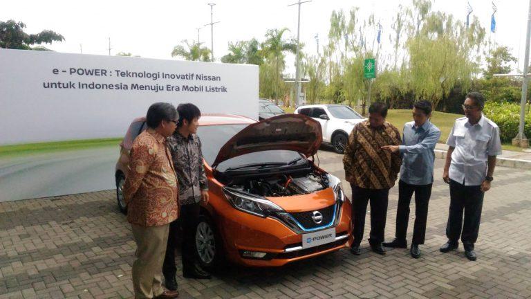 Nissan Tunjukkan Kemampuan Teknologi e-Power di Kawasan BSD