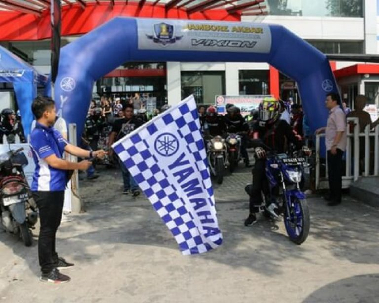Rayakan Jambore 1 Dekade Vixion, Ribuan Pencinta Yamaha Vixion Sambangi Sibolangit