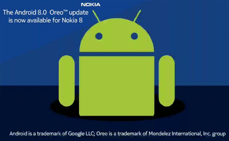 Nokia 8 Dapatkan Update Android 8.0 Oreo