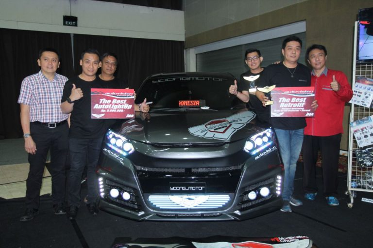 Honda HR-V Raih Predikat The Best Autovision Autolight Up 2017
