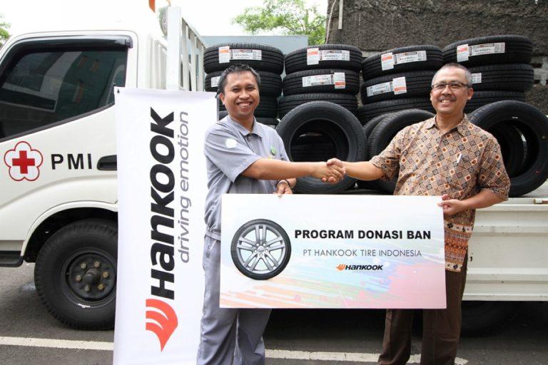 Hankook Tire Donasikan 40 Ban untuk Operasional Palang Merah Indonesia