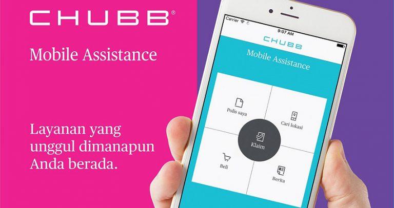 Chubb Luncurkan Solusi Layanan Klaim Berbasis Aplikasi Seluler