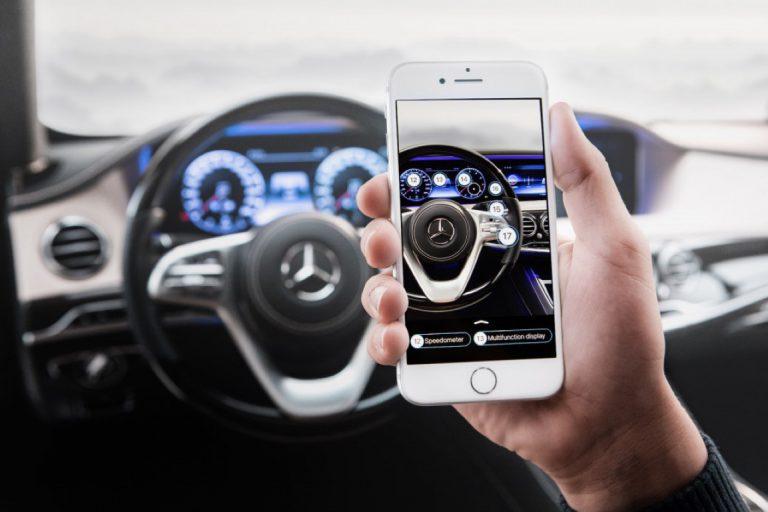 Mercedes-Benz Gunakan Augmented Reality untuk Gantikan Buku Manual