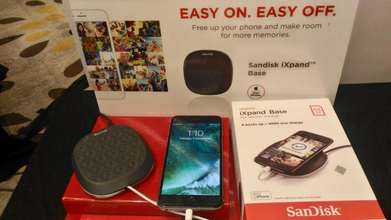 Western Digital Luncurkan SanDisk iXpand Base, Solusi Backup untuk Pemilik iPhone