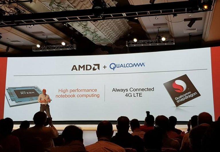 Intel Sudah Punya Modem LTE, AMD Pilih Gandeng Qualcomm untuk Konektivitas Notebook