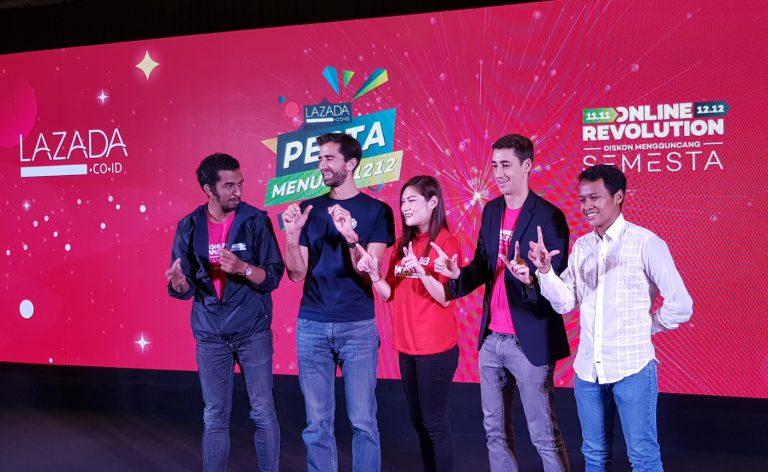 Sambut Pesta Belanja 12.12, Lazada Akan Gelar TV Show
